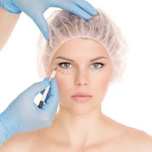Ögonplastik, preparation